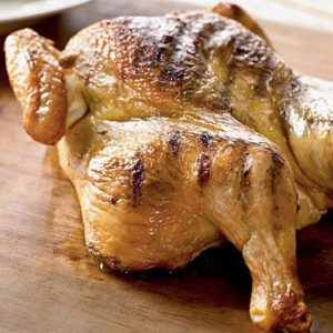 Grilled Spice-Rubbed Whole Chicken Recipe