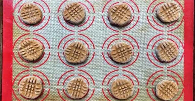Kitchenaid peanut butter cookie recipe
