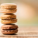 3 French Macarons