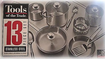 Tools of the trade cookware set box