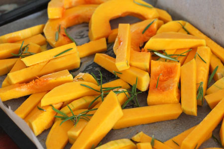 Pieces of Butternut-Squash